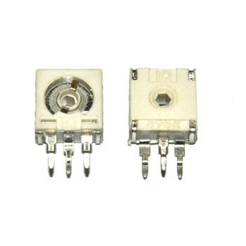 Cermet Instelpotmeter Staand 47 kΩ
