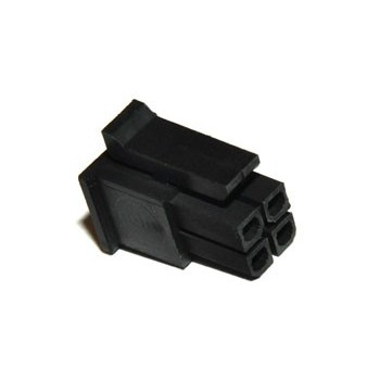 Micro-Fit 3mm 2x2 pin Plug
