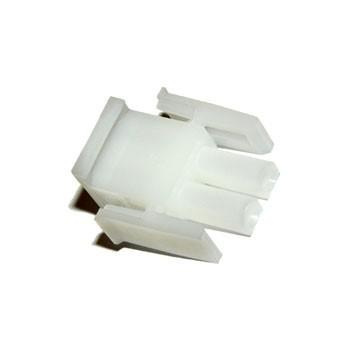 Mate-N-Lok 6,35mm 2 pin Plug