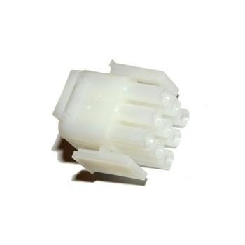 Mate-N-Lok 6,35mm 3x3 pin Plug