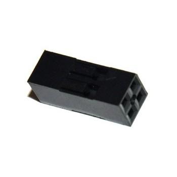 Header Krimp Plug 2x2p