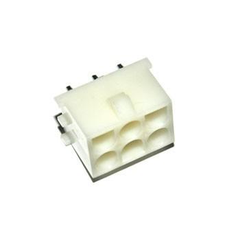 Mate-N-Lok 6,35mm 2x3 pin Print Female Pin