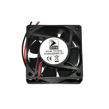 Fan 60x60x25mm 12Vdc