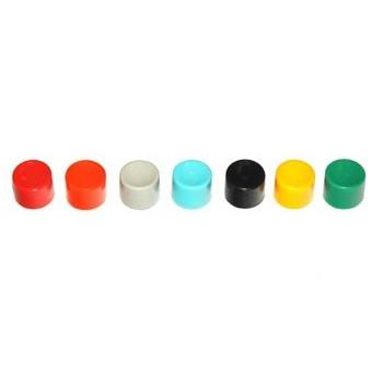 Knopje 10mm Zwart