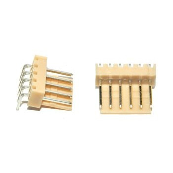 Pin Connector 2,54mm 6 pin Socket Haaks