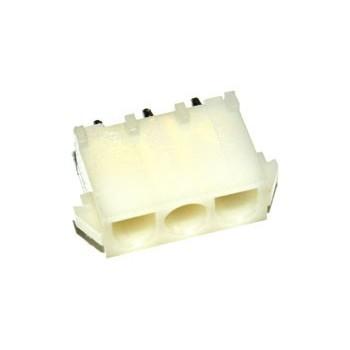 Mate-N-Lok 6,35mm 3 pin Print Male Pin