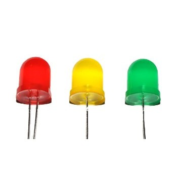 LED 10mm Groen Diffuus