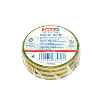 Isolatieband/Tape 19mm Geel/Groen