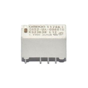 Mini Relais 2x wissel (4,5V)