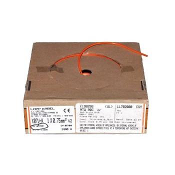 Soepel Montagedraad 0,75 mm² 105°C Bruin