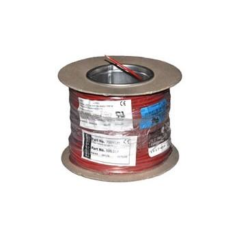 Soepel Montagedraad 0,75 mm² 105°C Geel