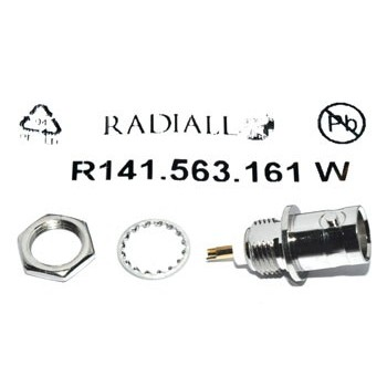 BNC Chassisdeel 50Ω (Ind) Radiall