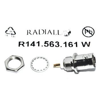 BNC Chassisdeel 50Ω (Ind) Radiall