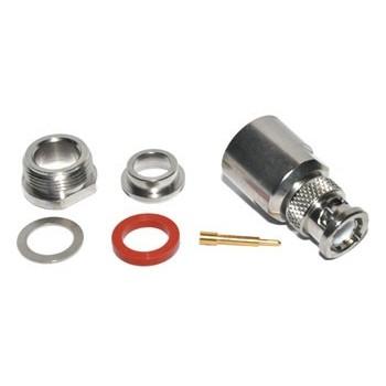 BNC Plug 75Ω Klem Radiall 9