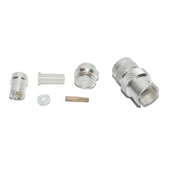 BNC mini Plug female 50Ω Krimp