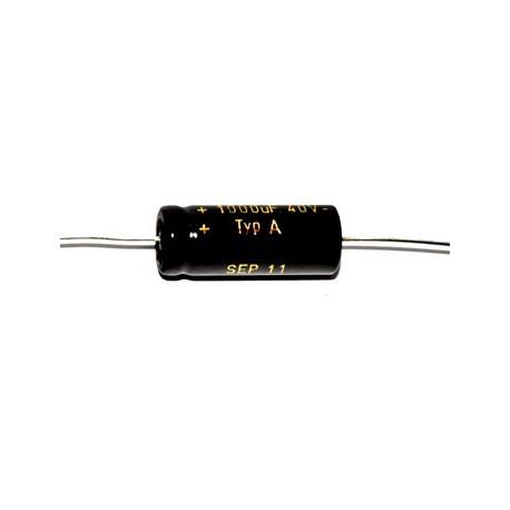 Axial 470uF 40V 105°C