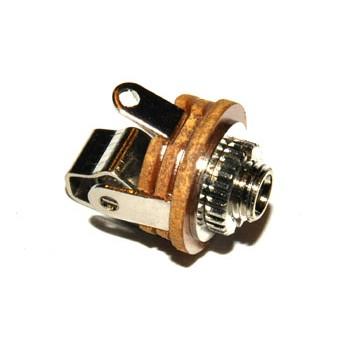Jack 2,5mm Chassisdeel Mono +Schakelaar
