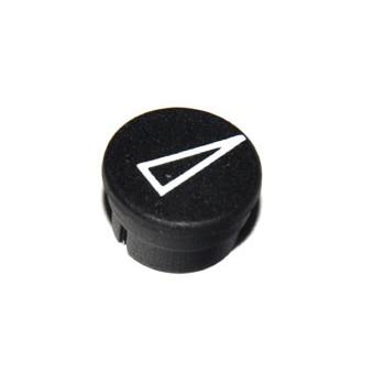 Spantang 15mm Dop+Pijl Zwart Mat