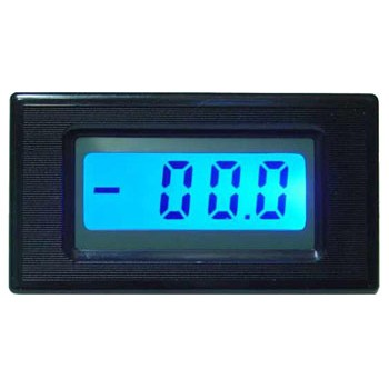 LCD Paneelmeter 13mm met Backlight