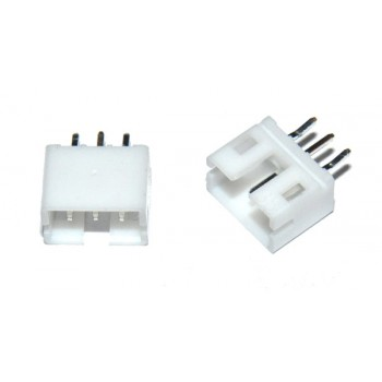 PH Connector 2mm 3 pin Socket Recht