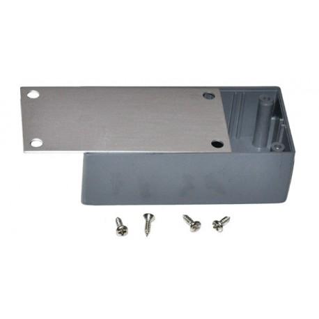 ABS Kastje 90 x 45 x 30 met Aluminium Plaatje