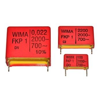 MKP 220pF 1600V