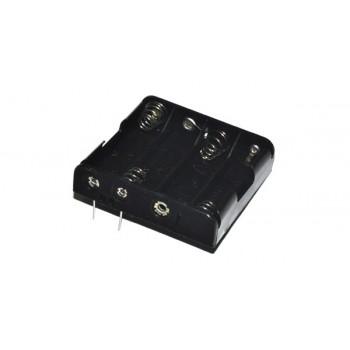 Batterijhouder 4x AA