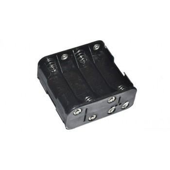 Batterijhouder 6x AA