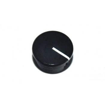 Spantang 15mm Dop+Lijn Zwart Glanzend