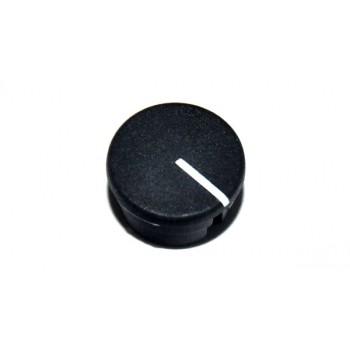 Spantang 15mm Dop+Lijn Zwart Mat
