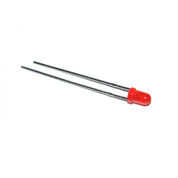 Knipper LED 5mm Rood
