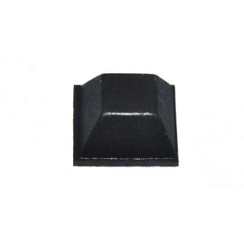 Plakvoetje Vierkant 12,7 mm