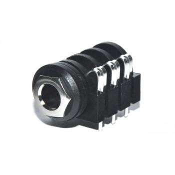 Jack 6,3mm Chassisdeel Stereo Print