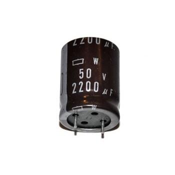2200uF 50V 105°C