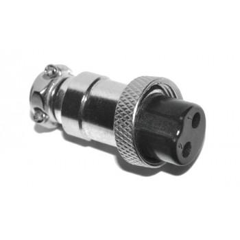 GX16 2 polig Female Plug