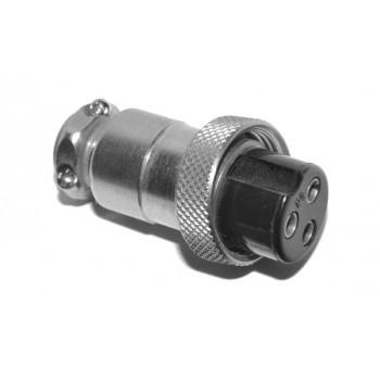 GX16 3 polig Female Plug
