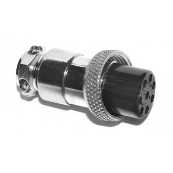 GX16 8 polig Female Plug