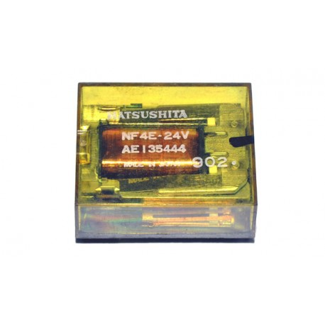 Relais 4x Wissel 2A (24V) Uitgesoldeerd