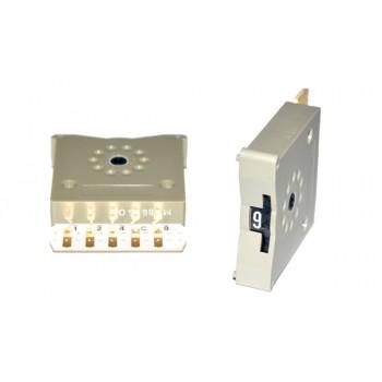 Code Schakelaar 33mm Grijs BCD