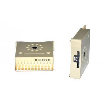 Code Schakelaar 33mm Grijs DEC 11 Standen