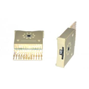 Code Schakelaar 33mm Grijs DEC/BCD