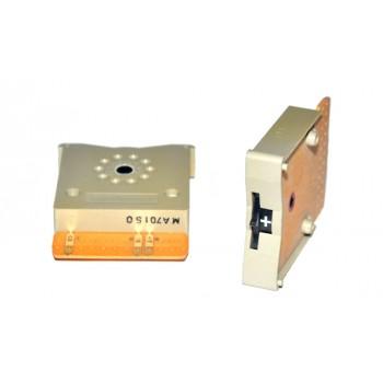 Code Schakelaar 33mm Grijs +/-