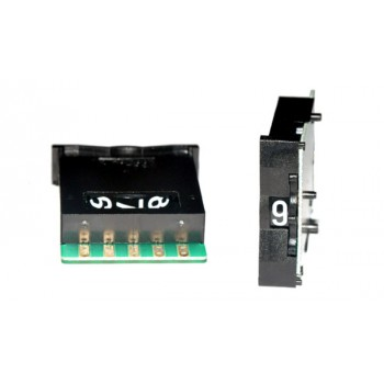 Code Schakelaar 33mm Zwart BCD