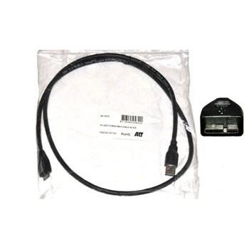 USB Kabel 0,5m A Male - Micro A Male
