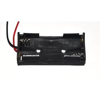 Batterijhouder 2x AAA