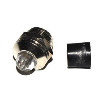 8mm LED-huis Nickel Uitstekend
