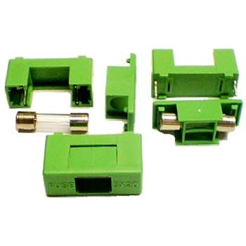 Zekeringhouder 5x20mm Beveiligd