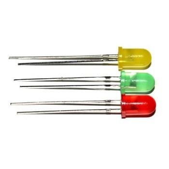 LED 5mm Diffuus Geel