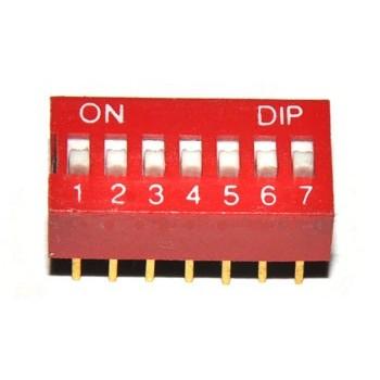 DIP switch 7 polig