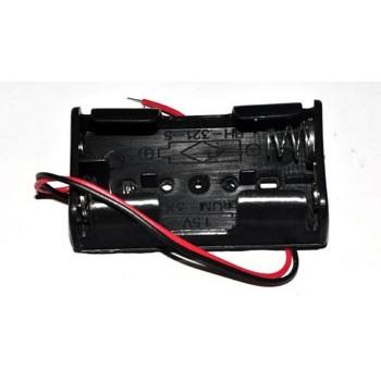 Batterijhouder 2x AA